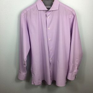 Other - Isaac Mizrahi Slim Fit Stripe Button Down Shirt